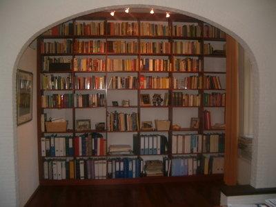 Boekenkast op maat kamerhoog kies uw afmeting.